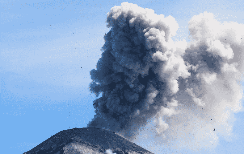 Volcano erupts on Caribbean island of St. Vincent