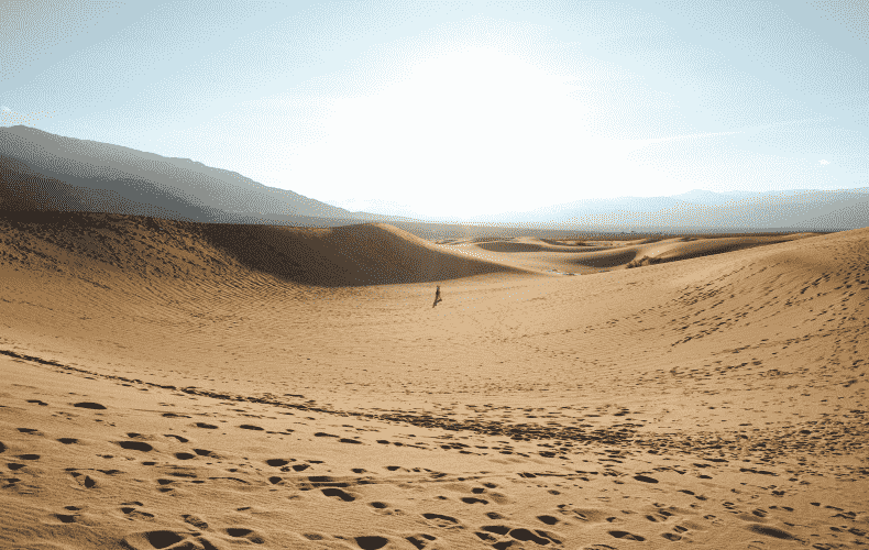 More than 53 degrees measured in Death Valley in California
