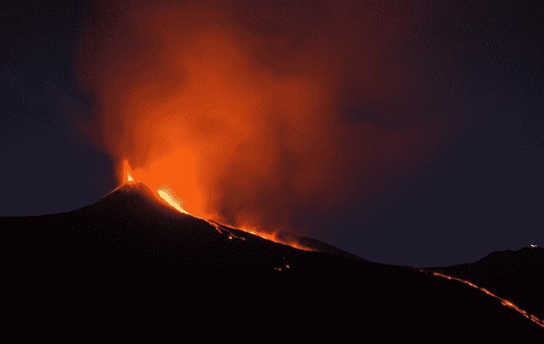 Volcanic eruption on La Palma