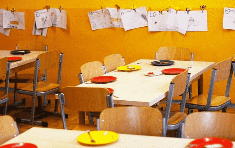 Fewer small children and more staff in daycare centers
