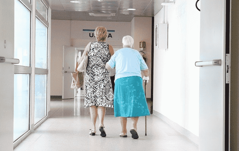The nursing care insurance fund is apparently threatened with insolvency