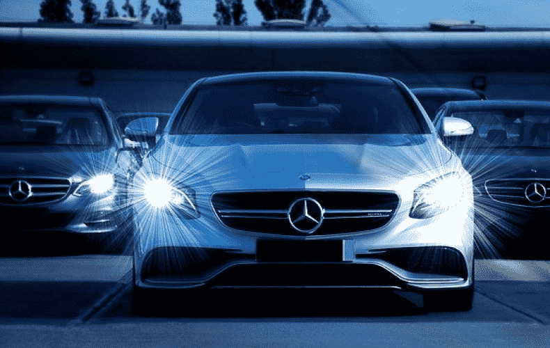 Mercedes delivers a third fewer cars
