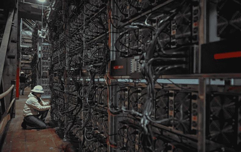 US company uses power plant for bitcoin mining